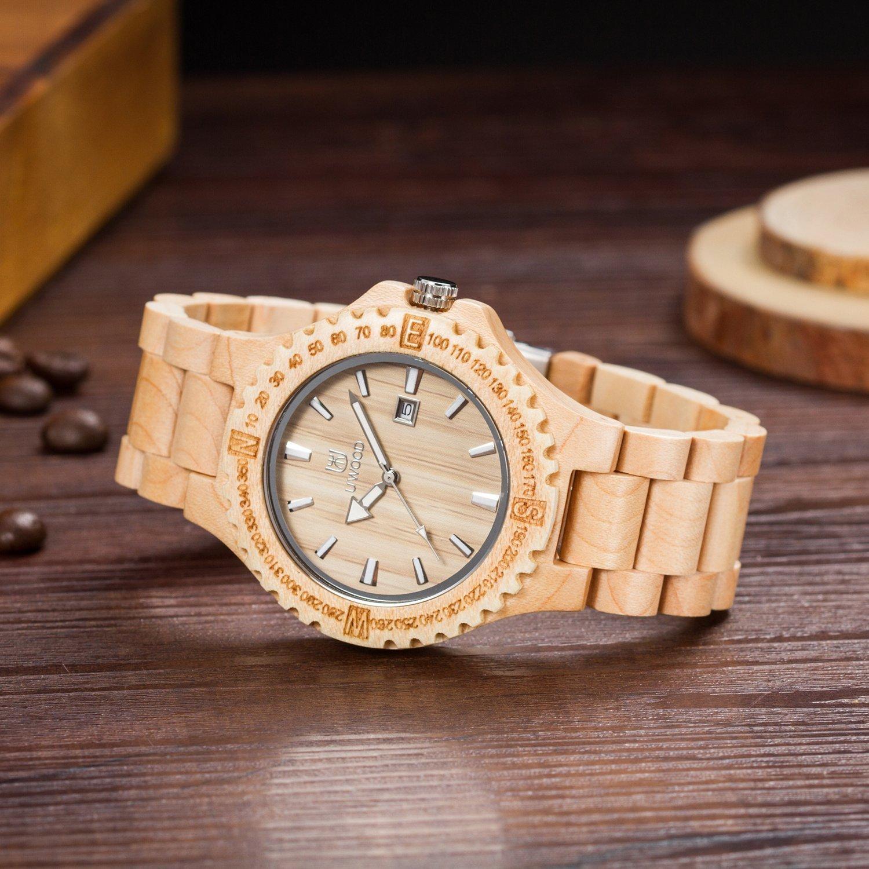 orologio legno matoa