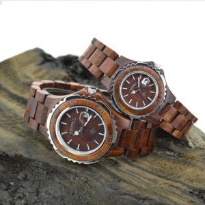 orologi legno bewell